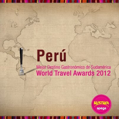 Peru on World Travel Awards 2012