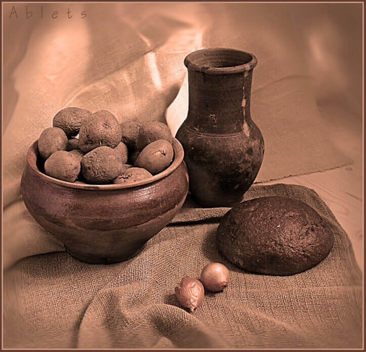 натюрморт з картоплею