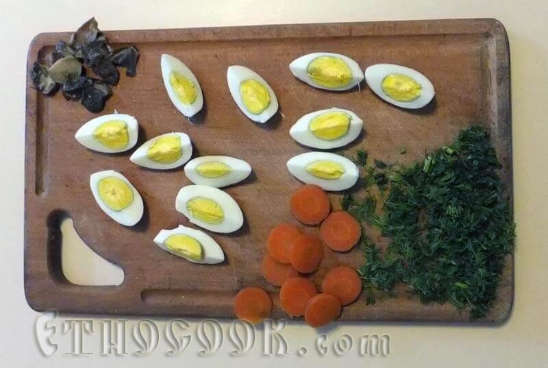 яйця варені