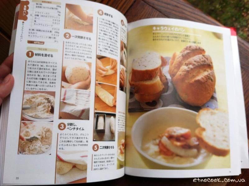 рецепт булки японською