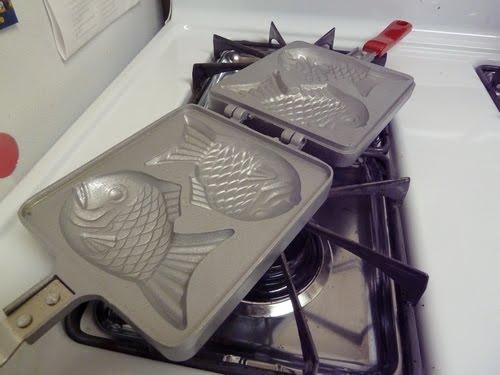 сковорідка для виготовлення тайякі