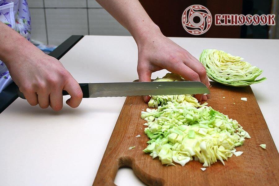 додаємо капусту