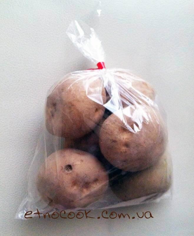 картопля з супермаркету