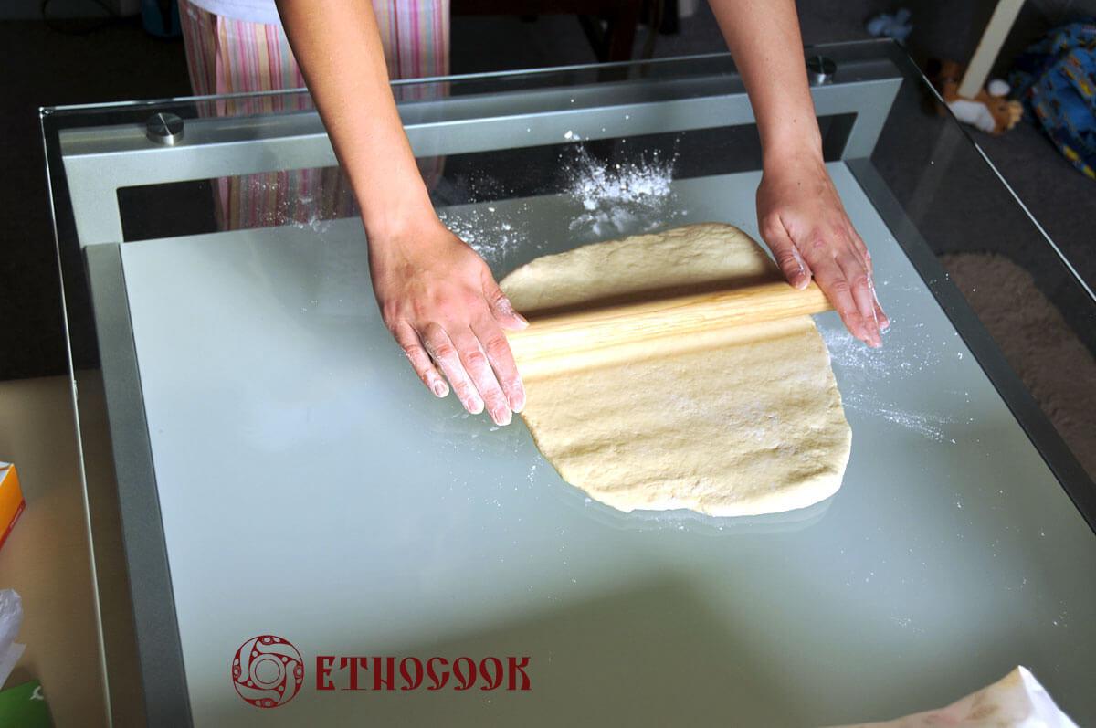 3 roll the dough