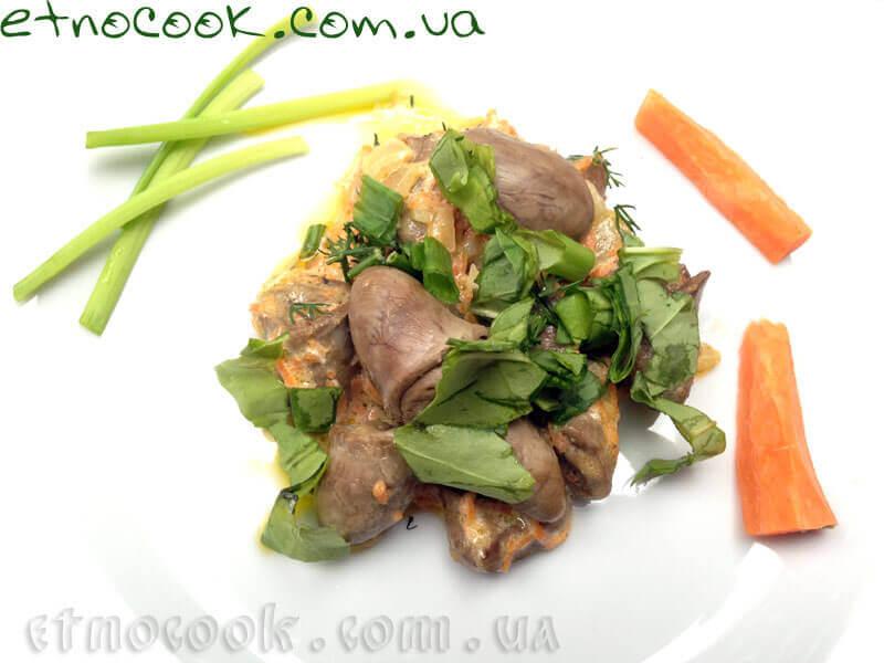 11-українська-страва-куряче-серце-у-сметанному-соусі-етнокук