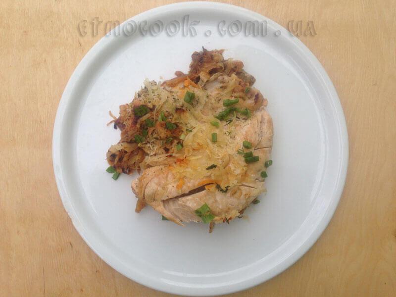 Індичка та тушковані овочі, український рецепт від блоґу традиційної етнічної слов'янської кухні Etnocook
